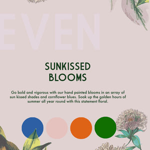 Sunkissed Blooms Wallpaper Roll