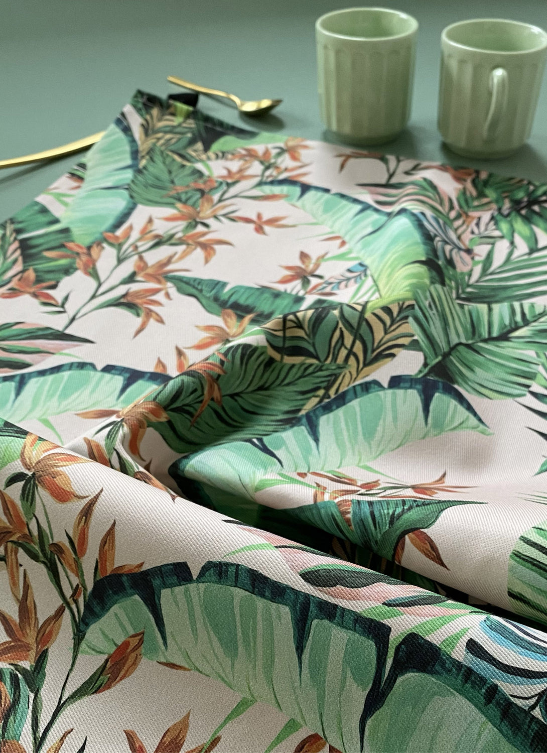 Dartmouth Tropical Tea Towel Blush