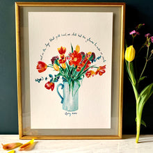 Load image into Gallery viewer, Tulips To Make You Smile Giclée Print
