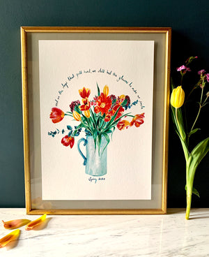 PERSONALISED Tulips To Make You Smile