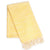 Yalova Eco-friendly Ultra Soft Marbled Blanket Towel Yellow