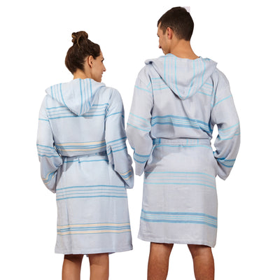 Antalya Unisex Eco-friendly Bathrobe (Beige)