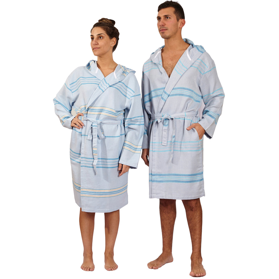 Antalya Unisex Bathrobe - Beige