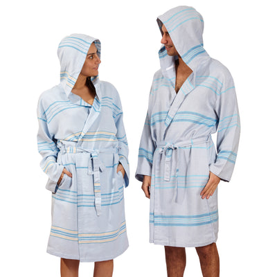 Antalya Unisex Eco-friendly Bathrobe Beige