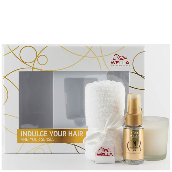 Wella Professionals Oil Reflections, Candle and Turban Bundle