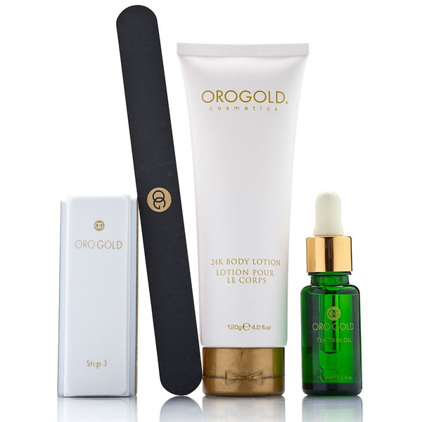 Orogold 24K Gold Hyacinth Exquisite Manicure Set