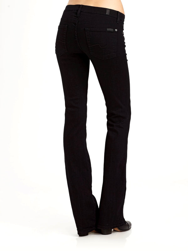 7 For All Mankind Kimmie Bootcut Jeans - Black