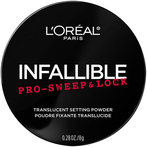 L'Oreal Paris Makeup Infallible Pro-Sweep & Lock Loose Matte Setting Face Powder