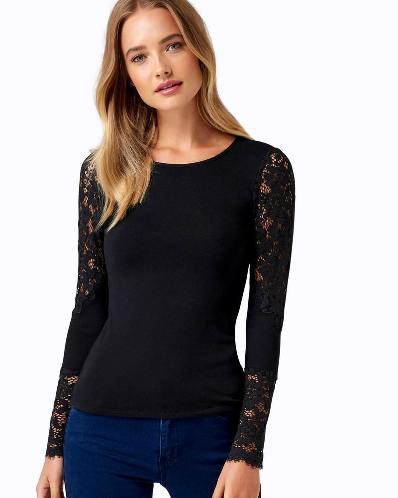 Forever New Alice Lace Insert Top