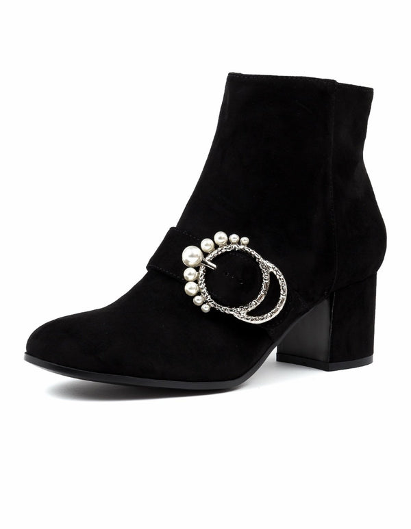 I Love Billie Embellished Ankle Boots