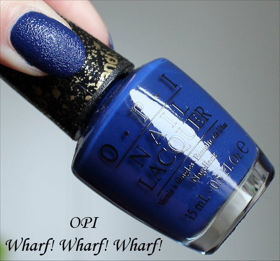 O.P.I Nail Lacquer - Liquid Sand Collection - Wharf Wharf Wharf