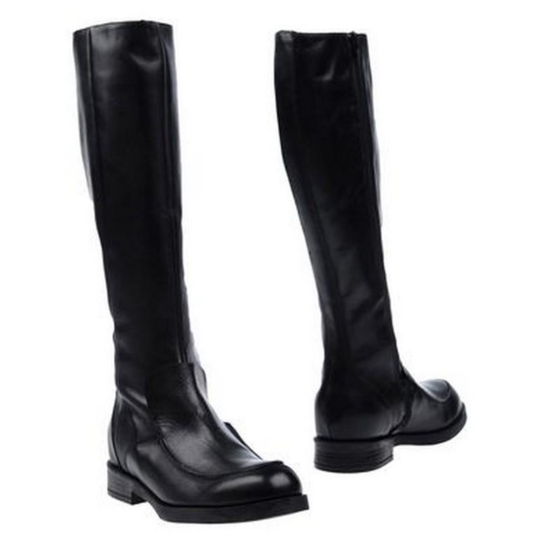 O Dan Li Knee High Leather Boots