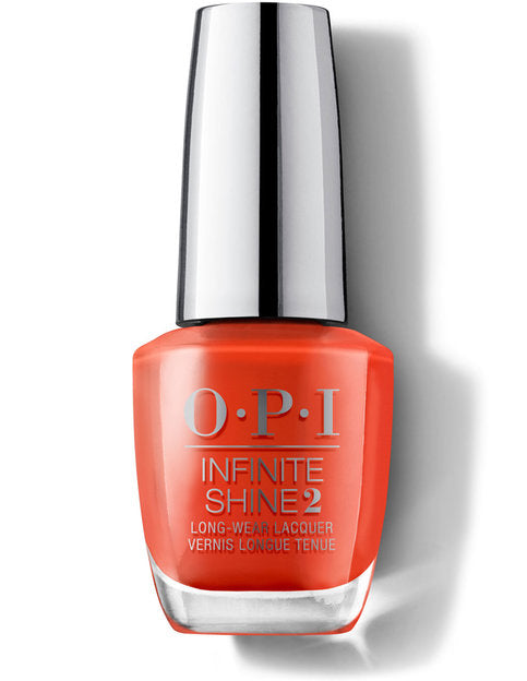 O.P.I Infinite Shine - A Red-vival City