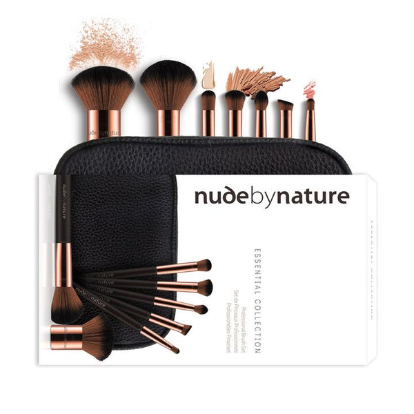 NUDE BY NATURE Essential Collection Brush Set