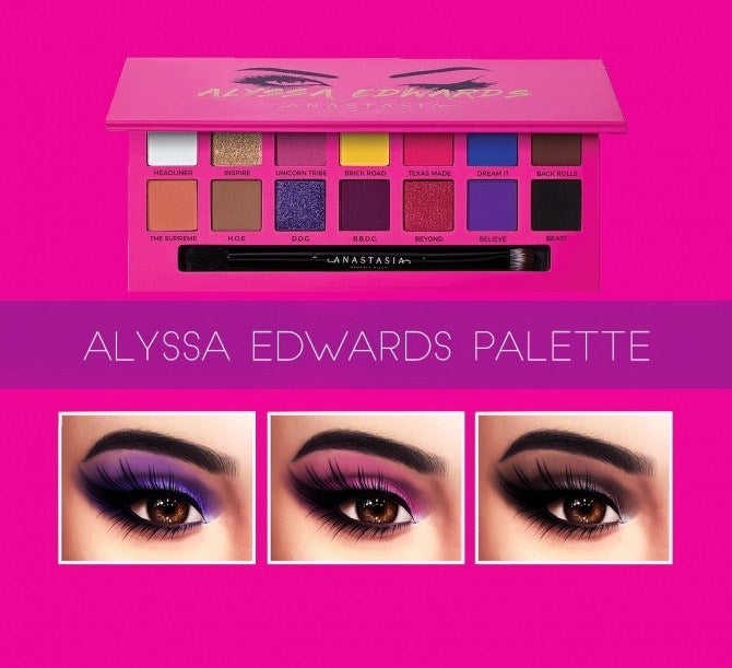 Anastasia Beverly Hills - Alyssa Edwards Eyeshadow Palette