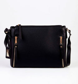 Laura Jones Side Zips Crossbody Bag