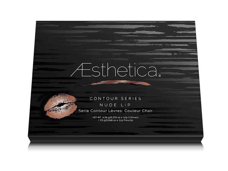La Moda Beauty Aesthetica Nude Lip Contouring and Highlighting Kit