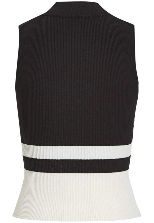 Bardot Colour Block Sleeveless Top