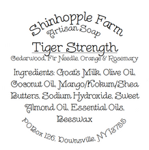 Load image into Gallery viewer, Tiger Strength Soap