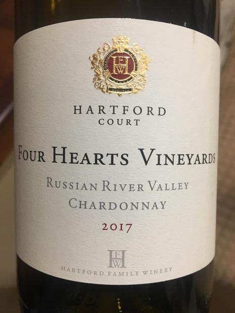 2017 Hartford / Hartford Court Chardonnay Four Hearts Vineyards