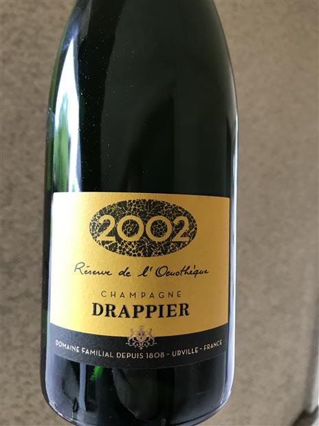 2002 Drappier Reserve Oenotheque (Pre-arrival)