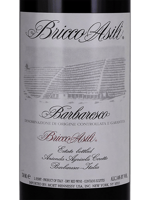 1989 Ceretto Barbaresco Bricco Asili [Pre-arrival]