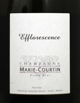 Marie Courtin Champagne Efflorescence Extra Brut (2014)(Pre-arrival)