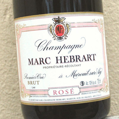 NV Marc Hebrart Rose Champagne Brut [Pre-arrival]