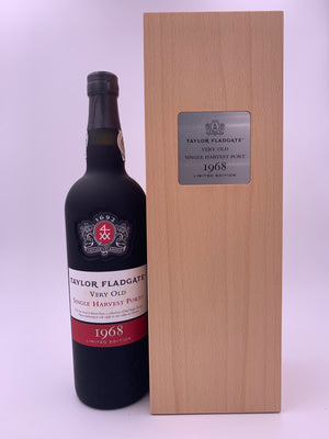 1968 Taylor (Fladgate) Very Old Single Harvest Port Limited Edition