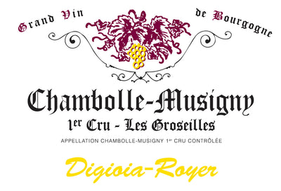 2018 Digioia-Royer Chambolle-Musigny 1er Cru Les Groseilles [Pre-Arrival]