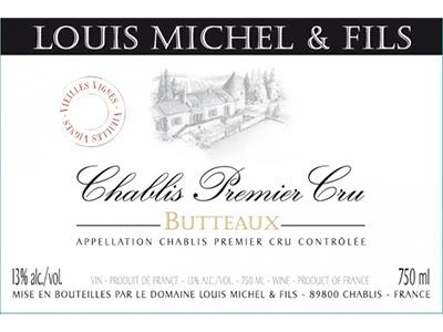 2015 Louis Michel Chablis Butteaux VV