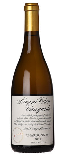 2016 Mount Eden Vineyards Chardonnay Santa Cruz Mountains Estate