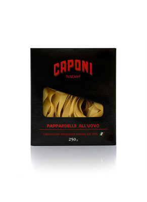 Caponi Hand Made Egg Pasta Pappardelle (250g)