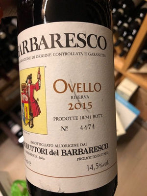 2015 Producttori del Barbaresco Ovello Reserva