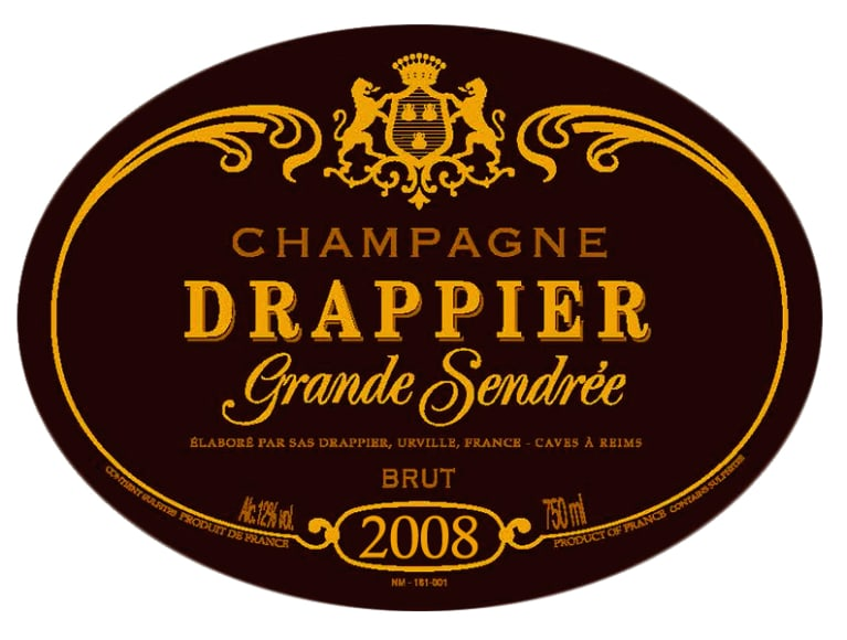 2008 Drappier Grand Sendree Magnums (Pre-arrival)
