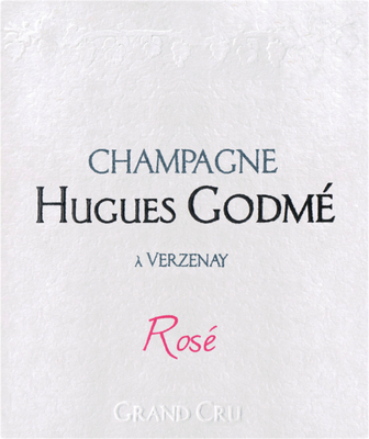NV Hugues Godme Champagne Grand Cru Rose