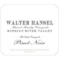 2017 Walter Hansel Russian River Estate  Pinot Noir