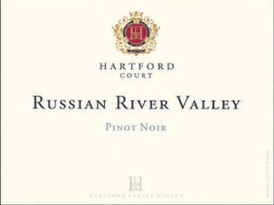 2018 Hartford Court Pinot Noir Russian River Valley