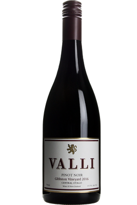 2016 Valli Pinot Noir Gibbston Vineyard