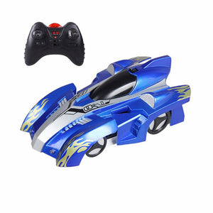 RC Car Wall Racing Car Toys with LED Lights Remote Control 360 Degree Rotating Stunt Anti Gravity Toy Car Model Gift for Kid