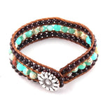 Bad Energy Shield Beaded Cuff