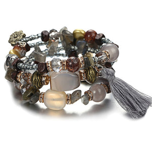 Vintage Multilayer Tassel Bracelets