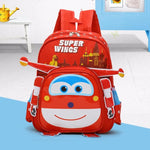 Hot Superwings 3D Kindergarten Backpack