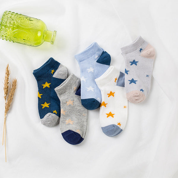 Kids Ankle No Show Socks, 5 pairs baby – BEAUTY PLEASURE