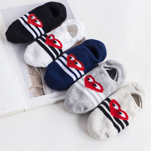 Kids Ankle No Show Socks, 5 pairs baby