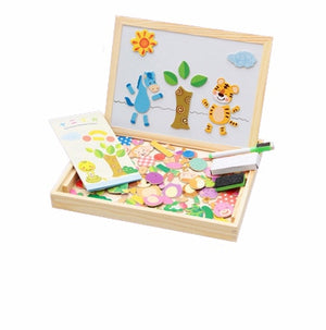 Wooden Magnetic Puzzle Learning toy