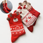 Winter Warm Christmas Gifts Soft Cotton Socks
