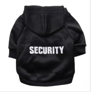 Security Cat Clothes Pet