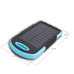 Solar Charging Power Bank Phone Charger