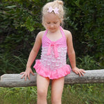 Ruffle Split Baby Bathing Suit